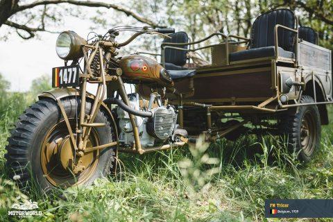 1939 FN Tricar   Belçika