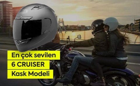 En çok sevilen 6 Cruiser Motosiklet Kaskı