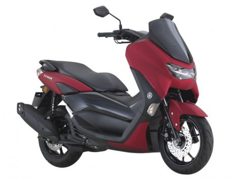 2021, Yamaha NMax 155