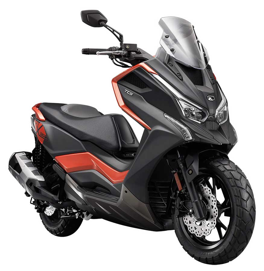 Adventure Crossover maxi scooter modeli: KYMCO DTX 360