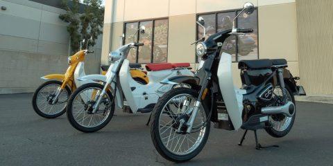 Elektrikli Honda Cub scooter'ı neden bekleyelim? CSC Monterey daha iyi ve daha ucuz!
