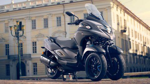 2021, Yamaha Tricity 300