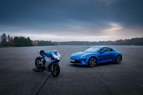 Sportbike MV Agusta Superveloce Alpine 2021