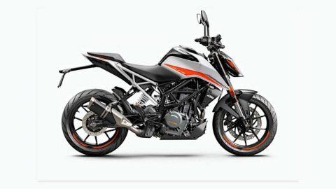 KTM 125, 390 Duke 2021