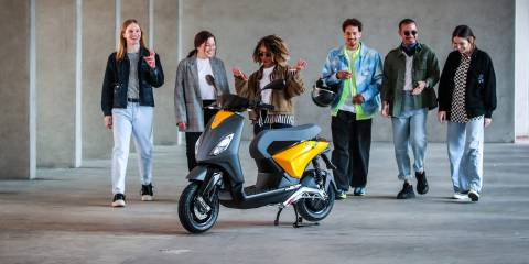 Elektrikli Vespa üreticisi Piaggio, ikinci elektrikli scooterını tanıttı