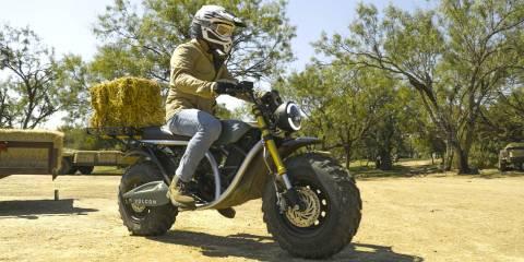 ABD yapımı ilk elektrikli elektrikli motosiklet olan Volcon Grunt, Teksas'ta üretime başladı