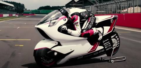 The World's Fastest Electric Motorcycle Revealed - WMC250EV