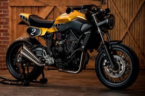 Yamaha MT07, Hageman Motorcycles
