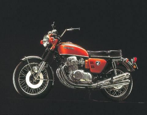 Grand Prix Makinelerinin Soyundan Dream CB750 FOUR