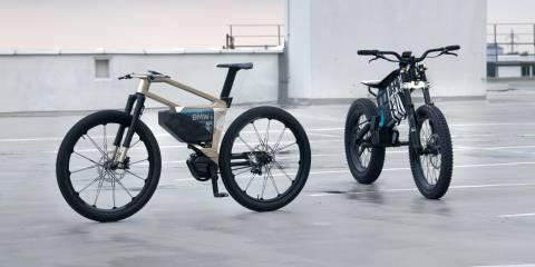 BMW, 300 km menzile sahip yüksek hızlı elektrikli bisikleti ve elektrikli motosikleti tanıttı