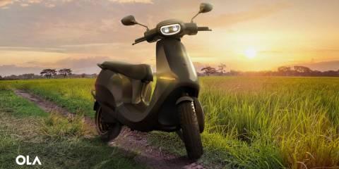 Ola'nın 70 MPH elektrikli scooter'ı yakın zamanda kıtalararası satışa geçecek