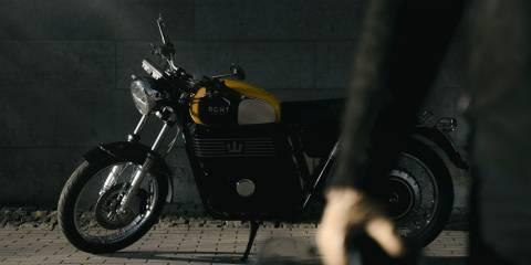 RGNT'nin göz alıcı, retro tarzı elektrikli motosikletleri satışa çıktı