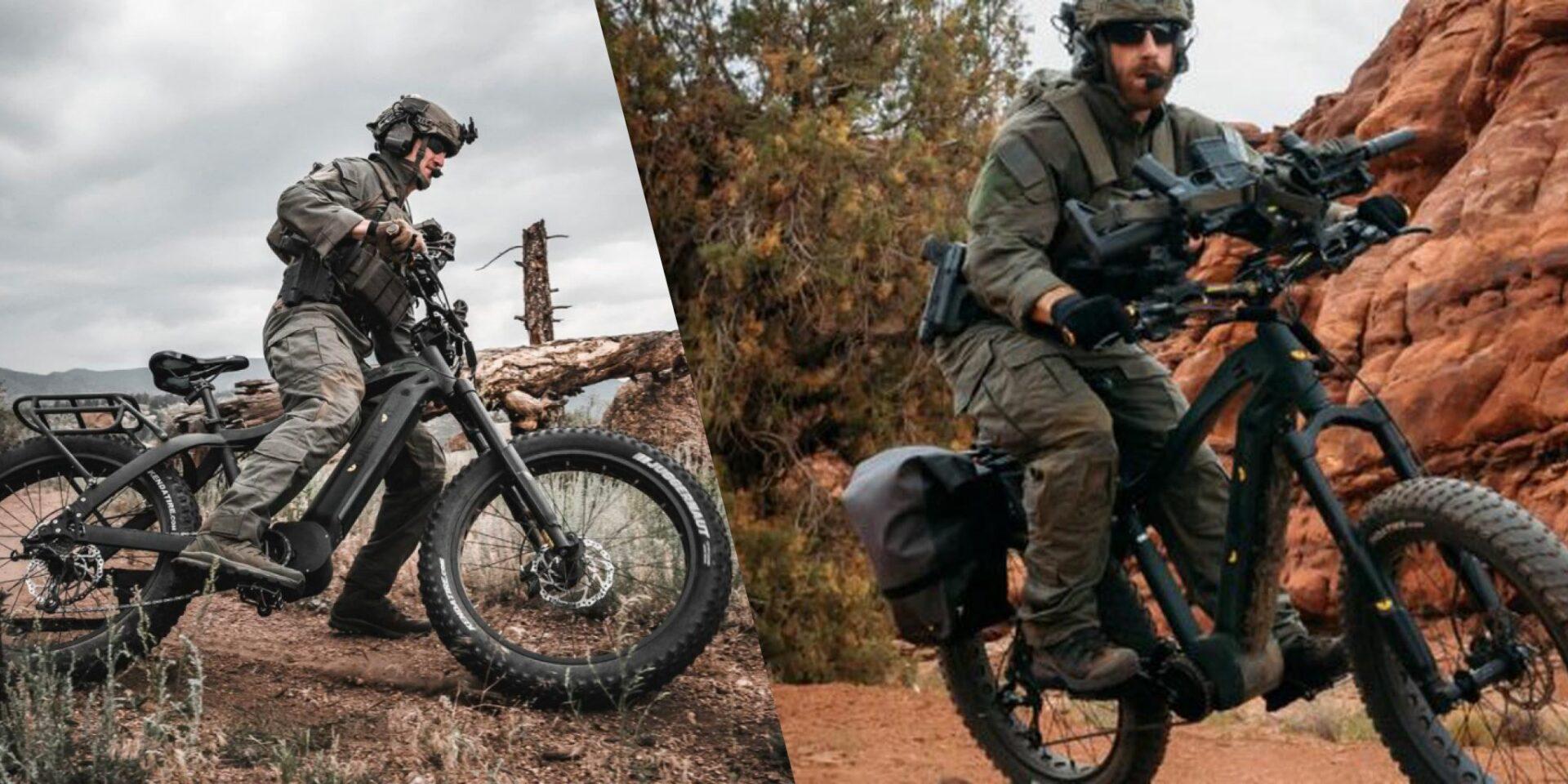 Avustralyalı askerler 80 Km menzilli elektrikli bisikletleri keşif görevlerinde kullanmaya başladı