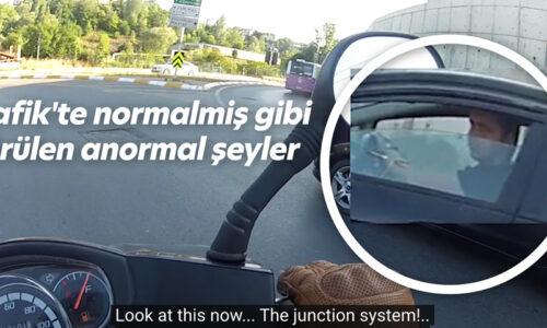 Trafik'te normalmiş gibi görülen anormal şeyler